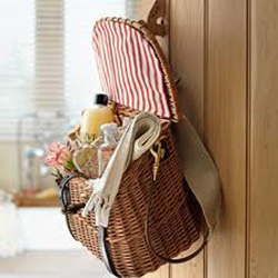 door handle basket