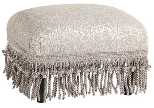 Ottoman with Fringe