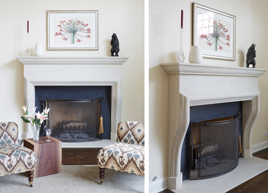 Glenview Renovations Fireplace by Atelier Jouvence
